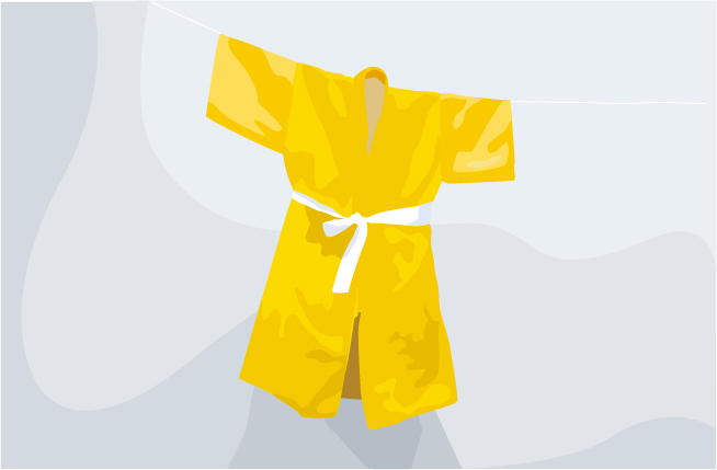 vectorized kimono