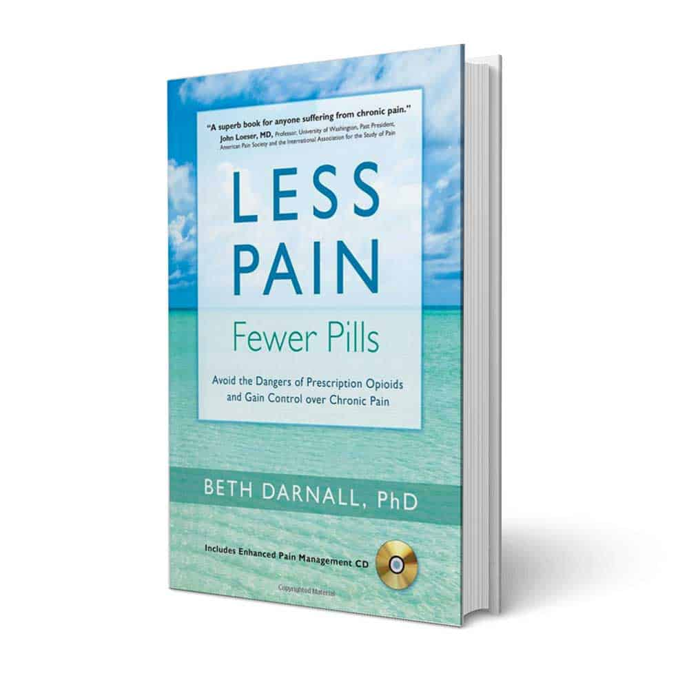 Less Pain book by Beth Darnall, PhD