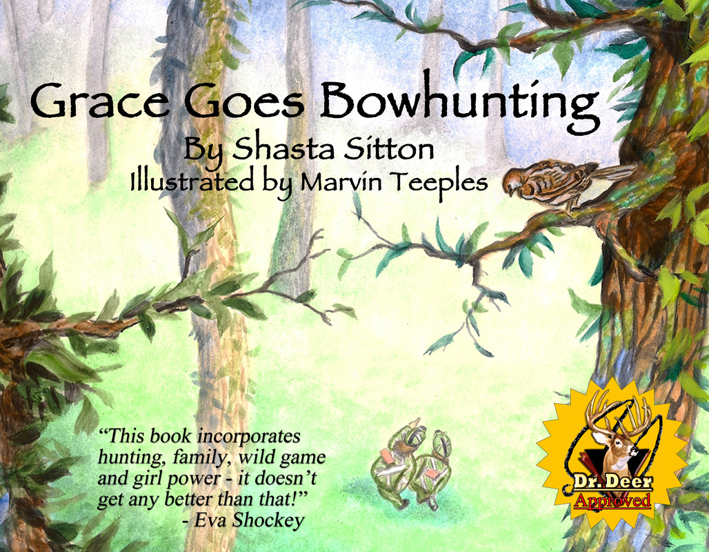 "ADVENTURESS endorses ""Grace Goes Bowhunting"" children's book"