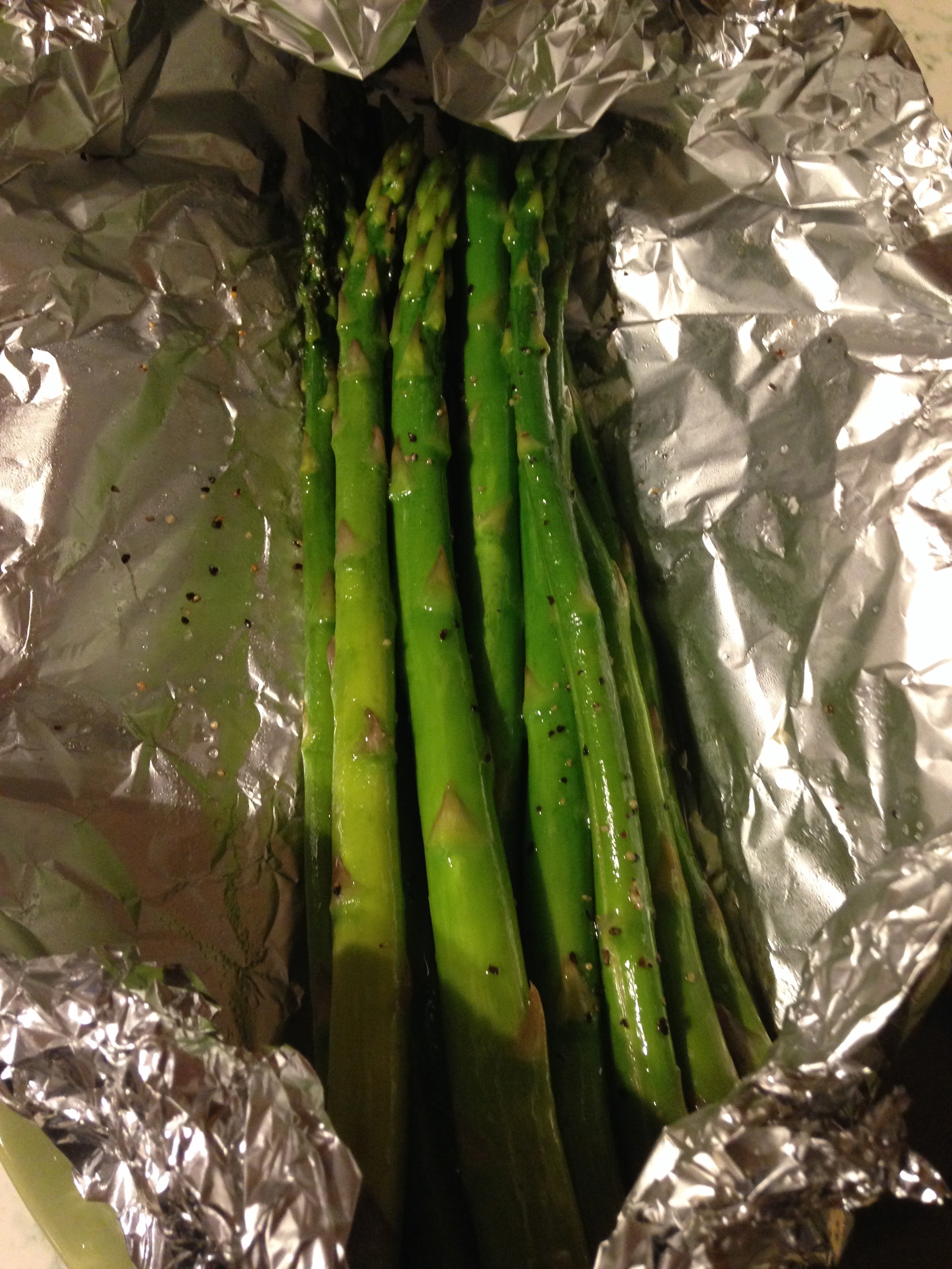 Recipe: Grilled Asparagus