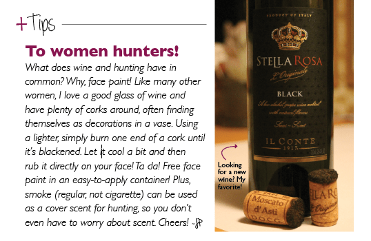 To women hunters!
