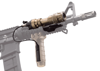 M952V LED WeaponLight for Rifles and SMGs — White and IR Output