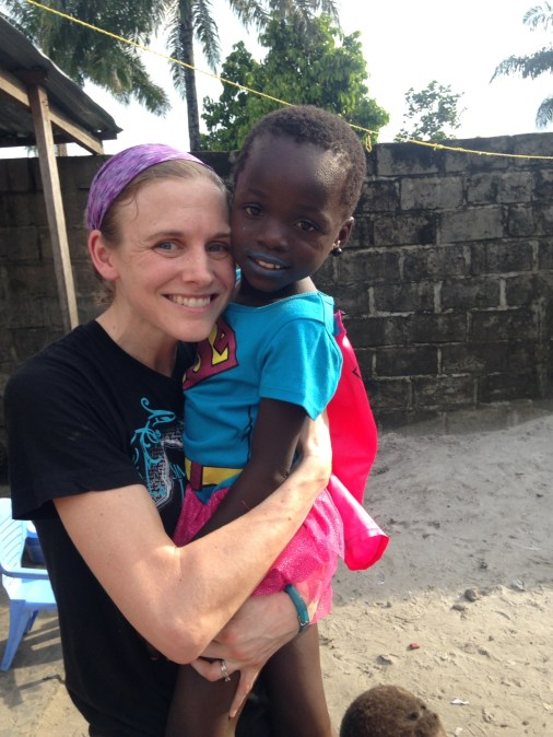 Missy Rock and Tina Rock are finally united after Tina received official paperwork allowing her to leave the Democratic Republic of the Congo. Photo courtesy of Andrew and Missy Rock.