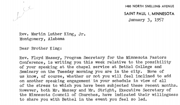 Into the Archives: Bethel and the Civil Rights Movement