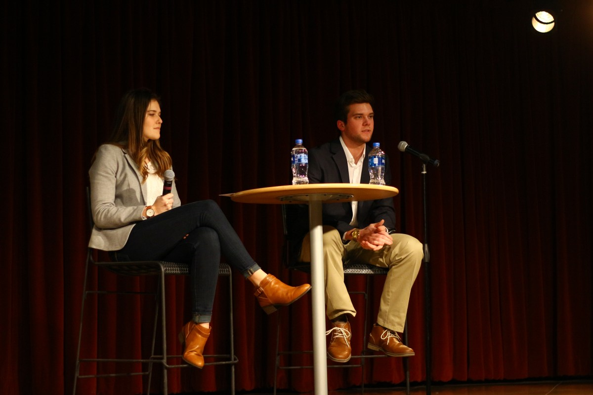 Student body president and vice president candidates run uncontested