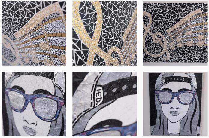 2. Portrait and Mosaic Art