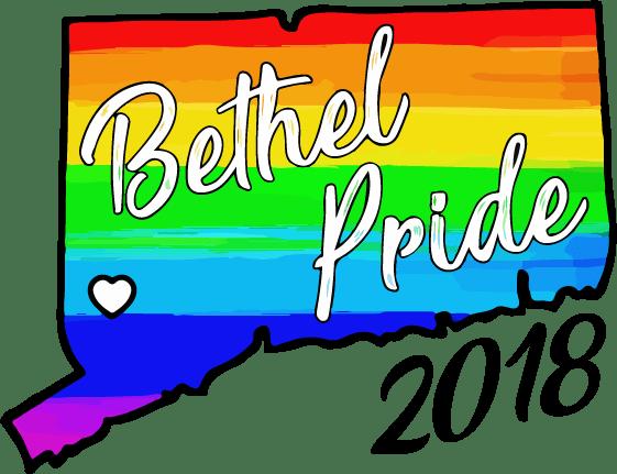 Bethel CT Pride 2018 logo