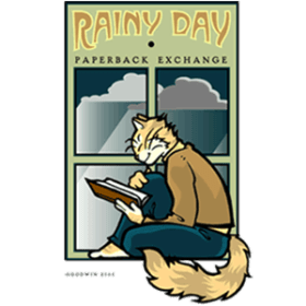 Rainy Day Paperback Exchange logo