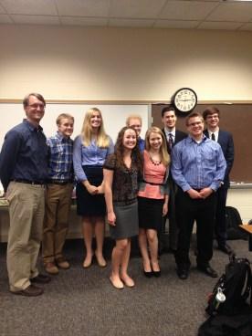 Our Spring 2014 Senior Seminar group