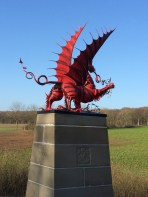 Welsh memorial at Mametz Wood