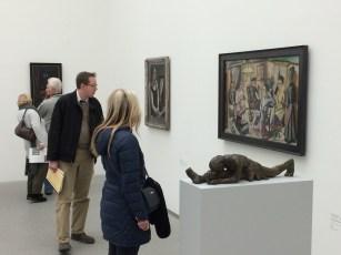 At the Pinakothek der Moderne