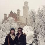 Lauren at Neuschwanstein Castle