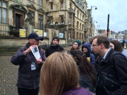 Our Oxford tour guide, Alastair Lack