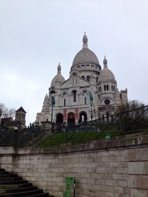 The Basilica of Sacré Coeur (Molly Magnuson)