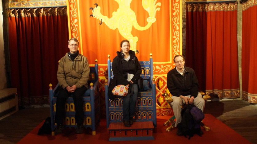 The new leadership takes the throne of Dover Castle.