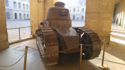 While the English may have created the first Tank, the French gave us the turreted top-gun.