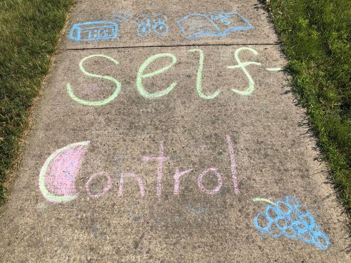 Prayer walk - Self-Control