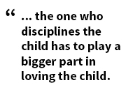 4 the one who disciplines