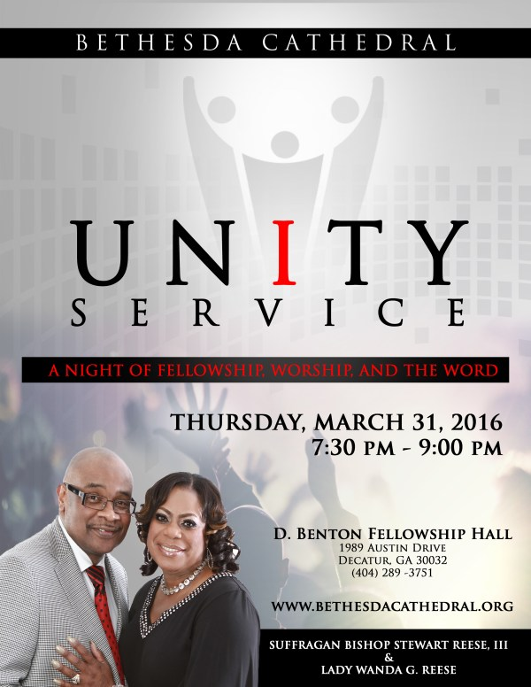 UnityServiceRevised March