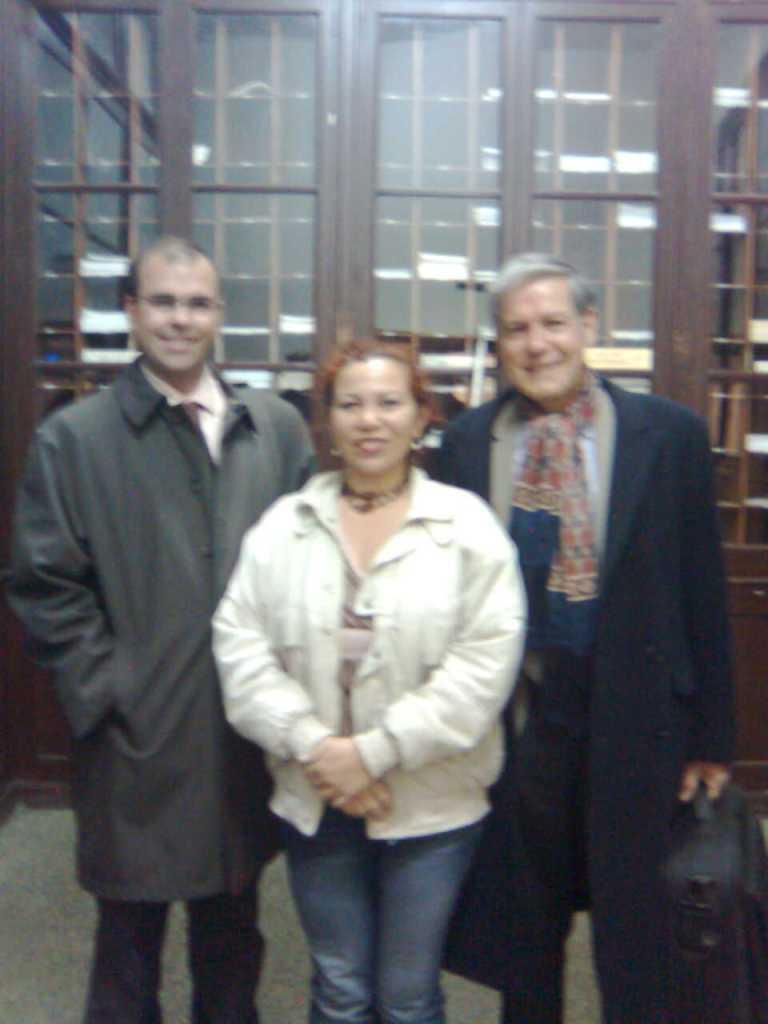Elizabeth Firmino_Carlos Alba_Jean-Marie Pradier_Doctorado en Teatro_Universidad de Alcalá de Henares_Madrid 2008