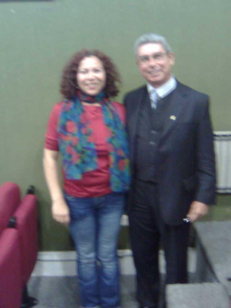 Elizabeth Firmino y Armindo Bião_Doctorado en Teatro_Universidad de Alcalá de Henares_Madrid 2008