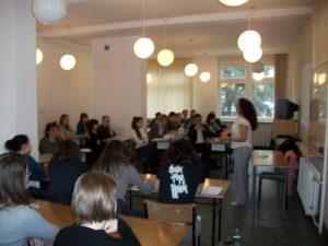 Elizabeth Firmino Workshop Iberystyka Universidad de Varsovia 2010