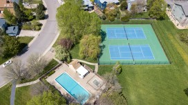 Private neighborhood pool, park, and tennis courts