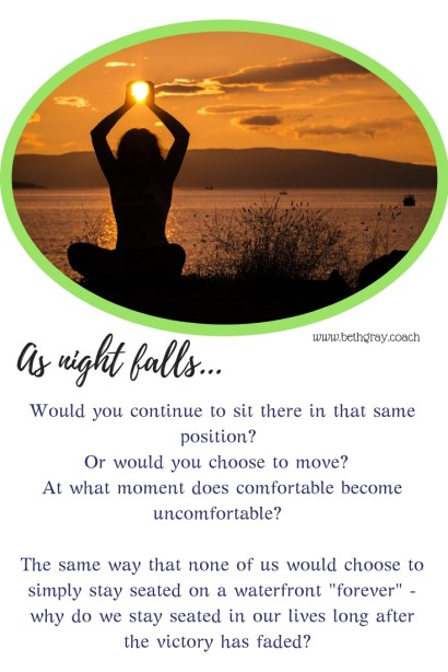 position, choose, move, comfortable, uncomfortable, seated, victory