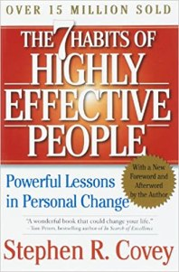 The 7 habits of highly effective people, Stephen R. Covey, book club