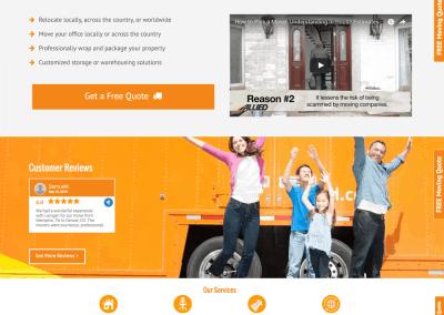 Lanigan Allied Vanlines Website