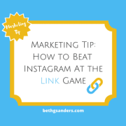 Marketing Tip: How to Beat Instagram at the Link Game