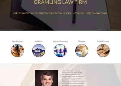 Gramling Law Firm Website