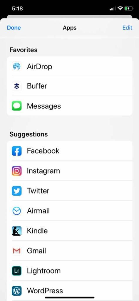Buffer social media scheduling