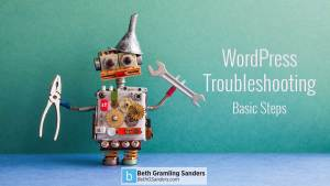 wordpress troubleshooting