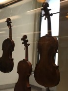At the Museum of Musical Instruments in the Castle Sforza