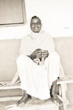 Besse volunteer's beautiful host mother