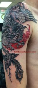 Traditional phoenix