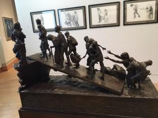 Irish Hunger sculpture