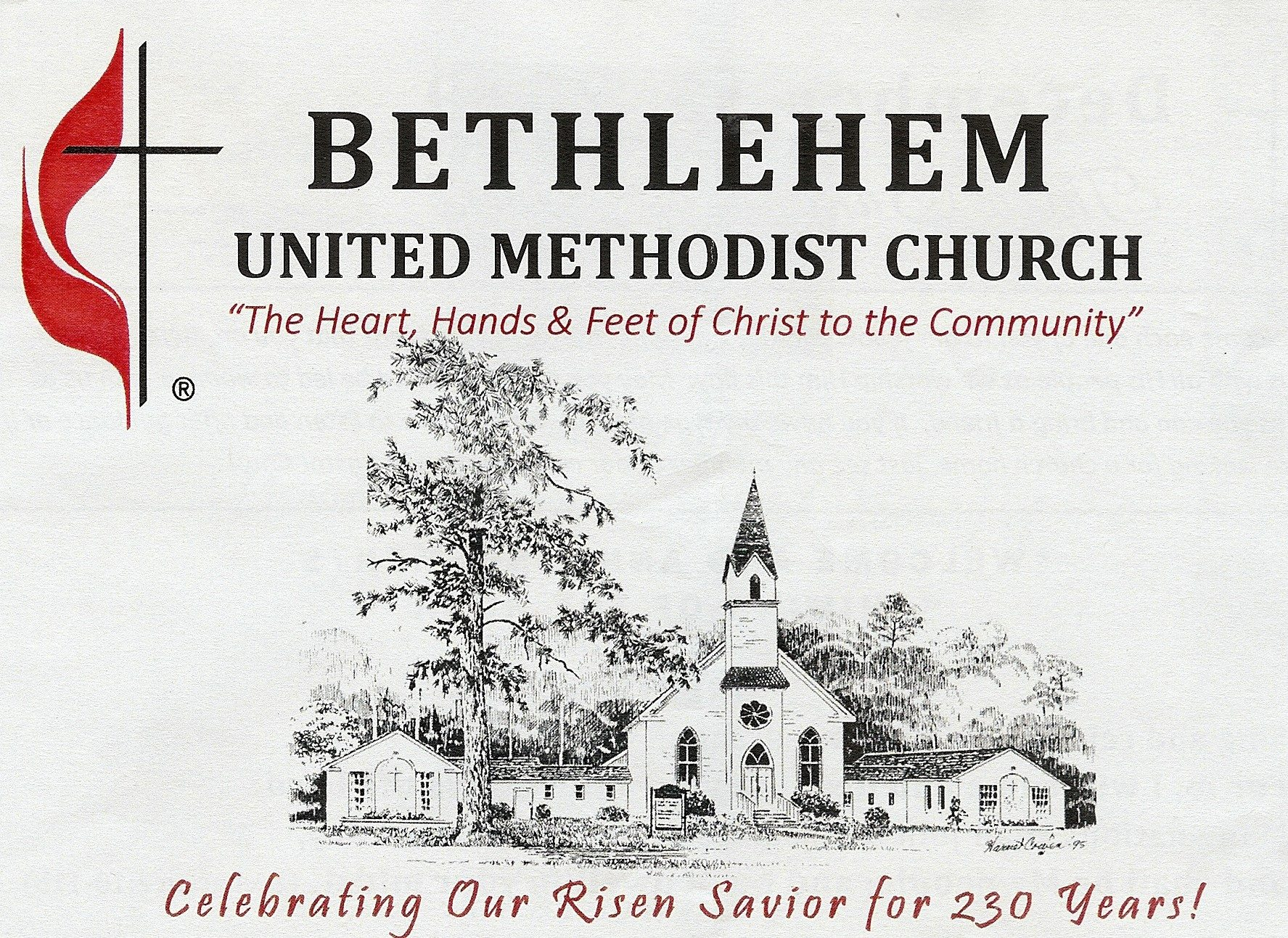 Logo for Bethlehem United Methodist Church