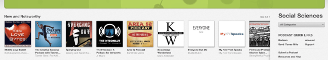Number one in iTunes New And Noteworthy