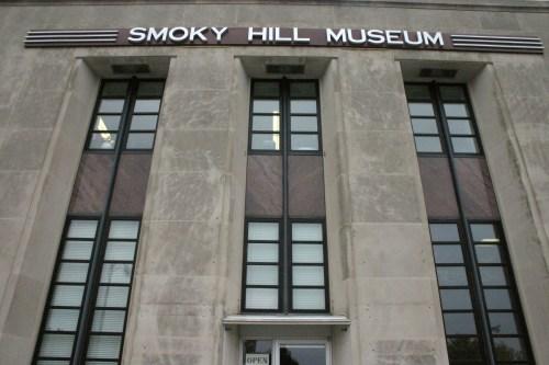 Salina Smoky Hill Museum exterior Kansas Oct 2009