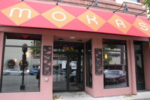 Salina downtown Mokas exterior Kansas Oct 2009