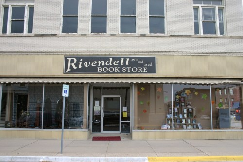Abilene Rivendell bookstore Nov 2009