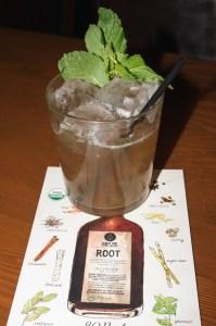 Root tea, Bitter Bar, Beth Partin's photos, Boulder restaurants, speakeasy