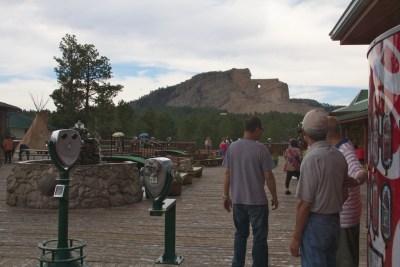 Crazy Horse behind Coke machine July 2011 (1)