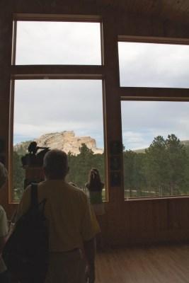 Crazy Horse through window July 2011 (1)
