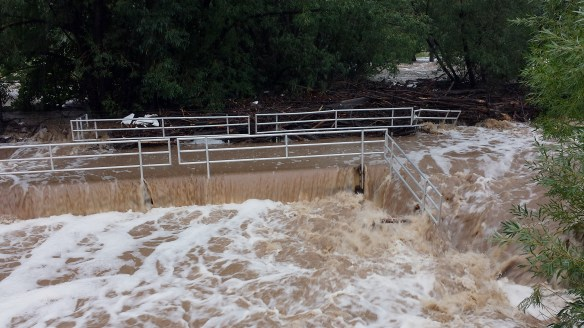 Bridge over South Boulder Creek at 55th and South Boulder Road, 9-12-13