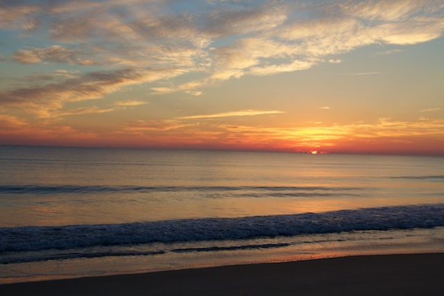 Sunrise, Kill Devils Hills, Outer Banks, NC Oct 2012