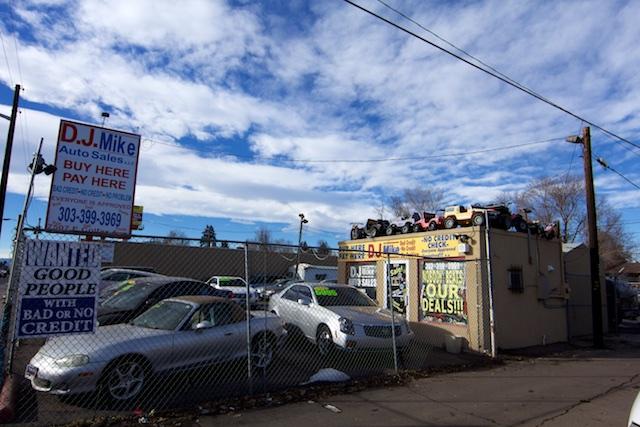 DJ Mike Auto Sales Colfax Denver Jan 2015