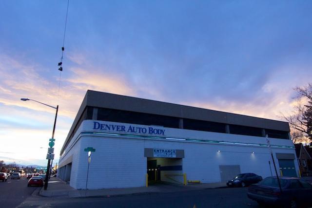 Denver Auto Body Colfax Denver Jan 2015